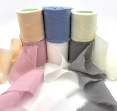 Chiffon Silk Ribbons
