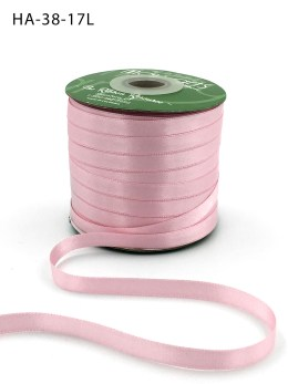 light pink double face satin ribbon