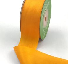 Cadmium Yellow Hand Dyed Silk Ribbon