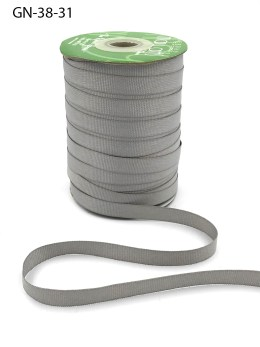 silver grosgrain ribbon