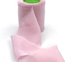 Woodrose Chiffon Silk Ribbon