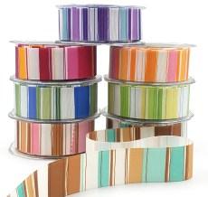 1.5 Inch Grosgrain / Horizontal Stripes Ribbon