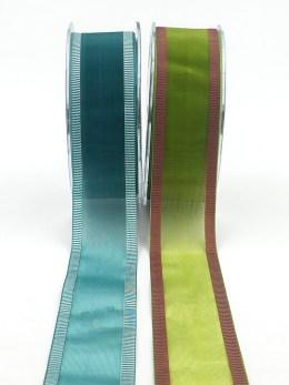 1.5 inch Sheer / Line Edge Ribbon