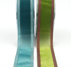 1.5 inch Sheer / Line Edge Ribbon
