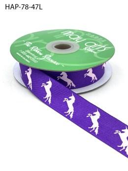 Violet Unicorn Ribbon