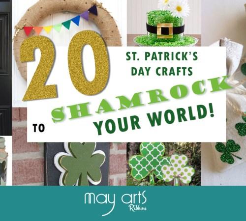 20 St. Patrick's Day Craft Ideas