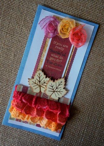 Painting Ribbon Flowers