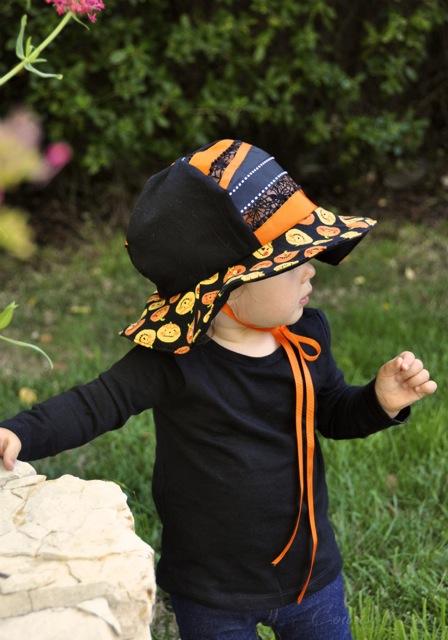 Halloween Toddler Hat