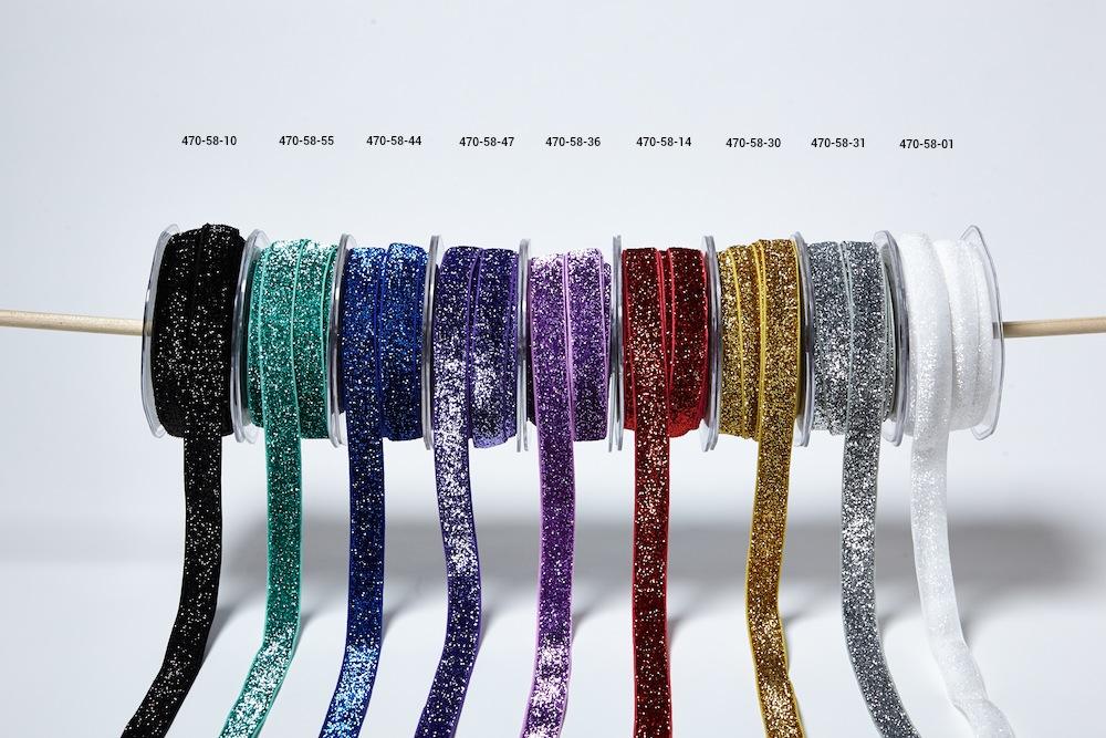 Glitter Elastic Ribbon