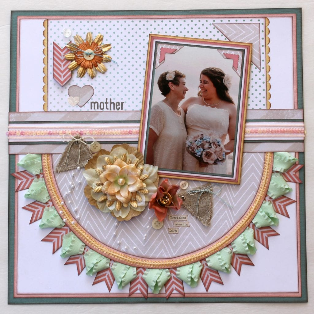 'Mother of the Bride' Layout