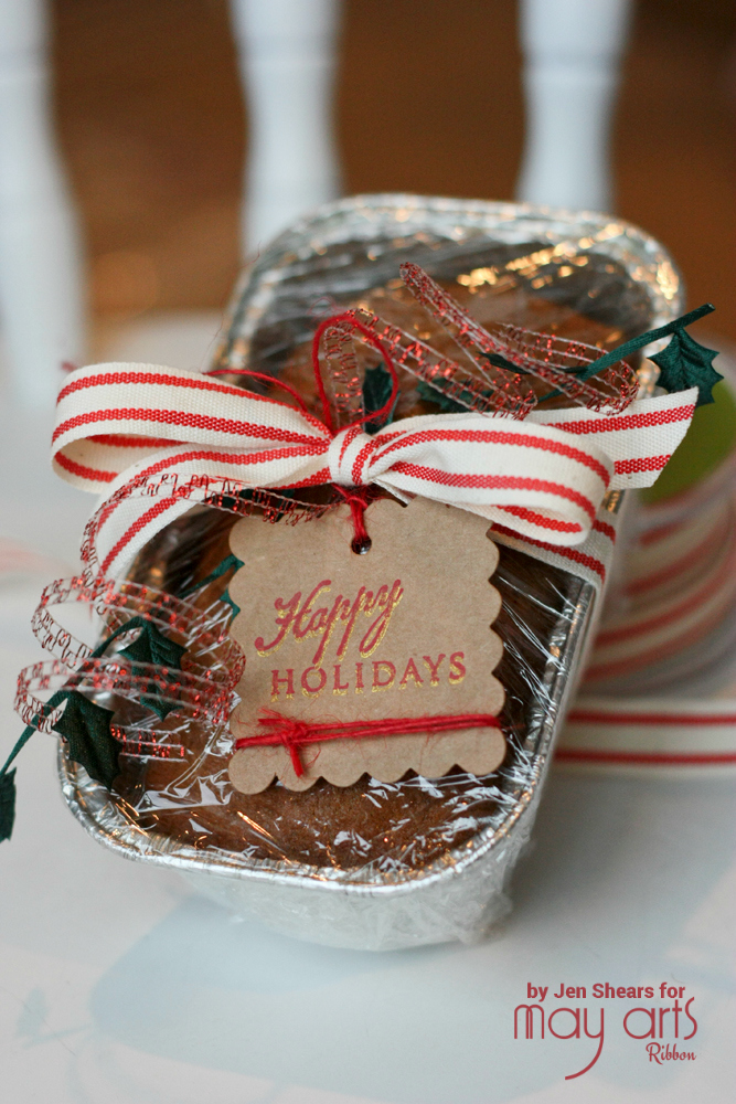 Dress Up Baked Goods with Ribbon