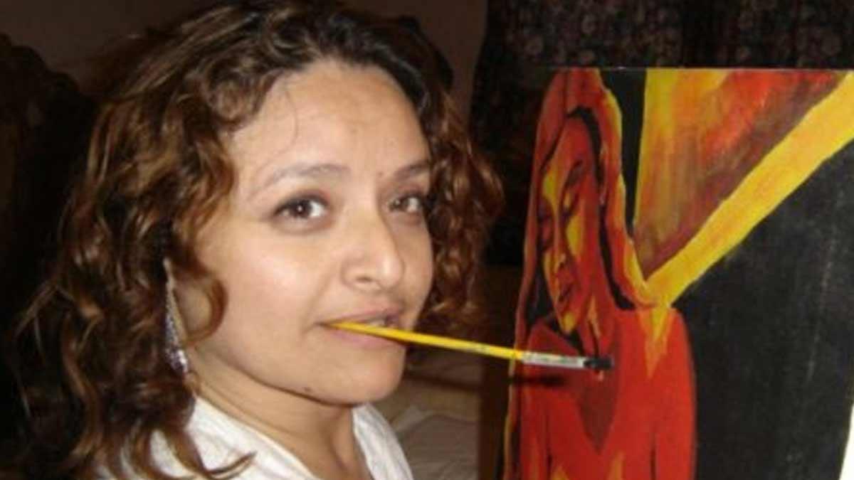Lidia-de-Jesús-Cháidez-López. Pintora discapacitada