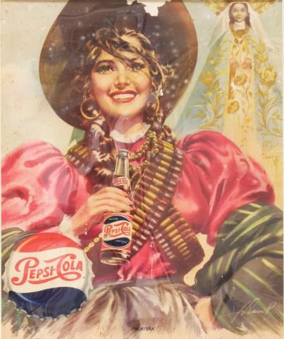 publicidad en los calendarios mexicanos