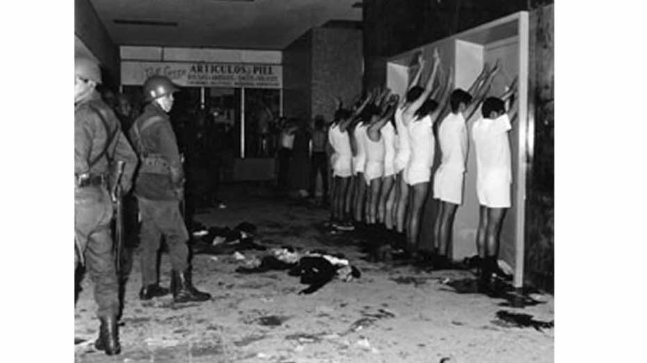 foto de la matanza de tlatelolco