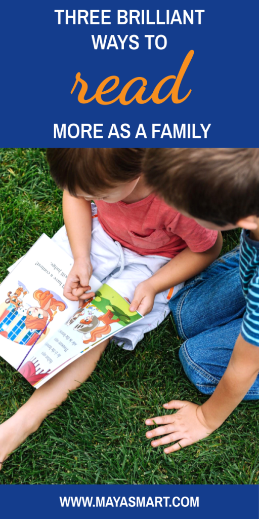 Three Ways To Read More As A Family