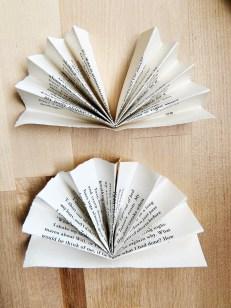 Book Page Pinwheel Banner