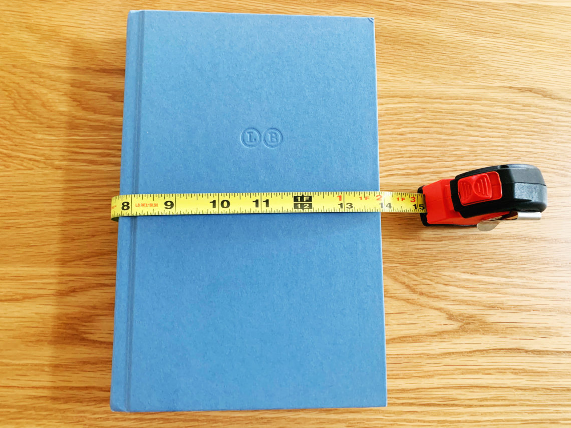 DIY No-Sew Book Cover