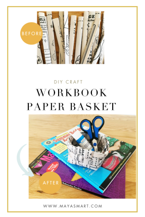 Workbook Paper Basket