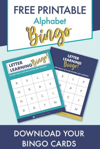 Free Alphabet Bingo lead