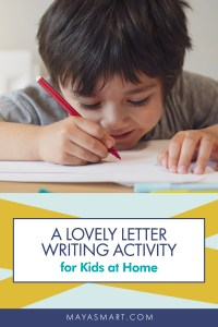 Letter Writing pin