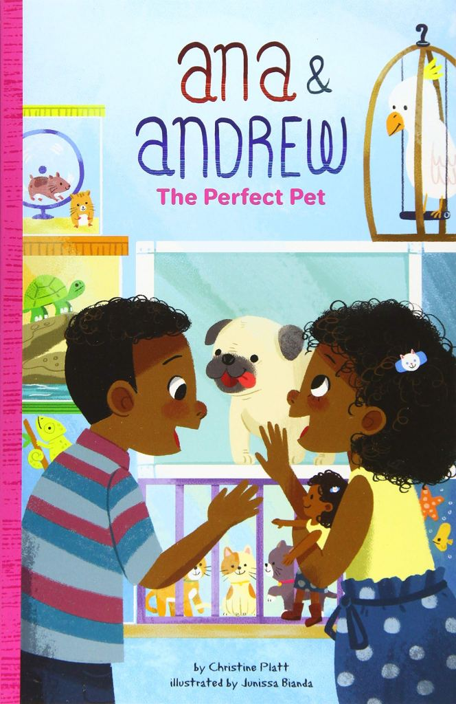 The Perfect Pet by Christine Platt book cover