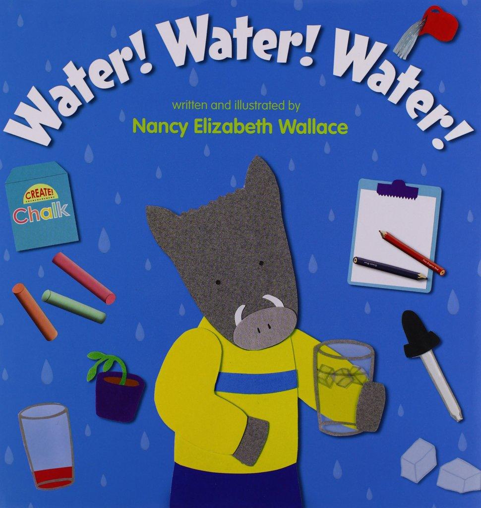 Water! Water! Water! by Nancy Elizabeth Wallace book cover