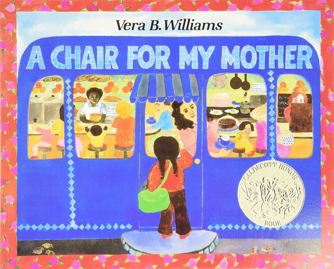A Chair for My Mother by Vera B. Williams  book cover