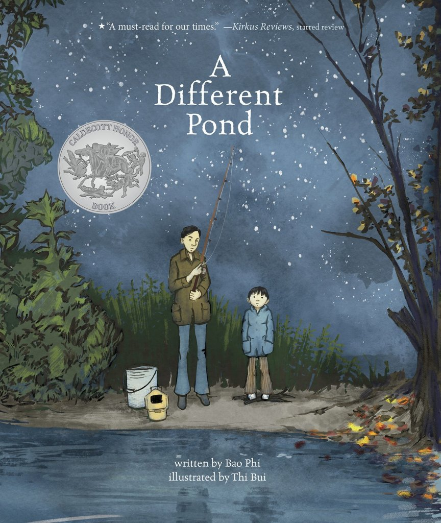 A Different Pond by Bao Phi book cover