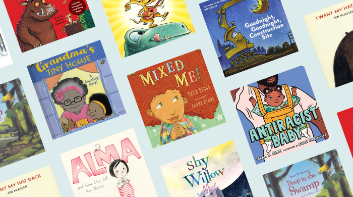 collage of best audiobooks for toddlers
