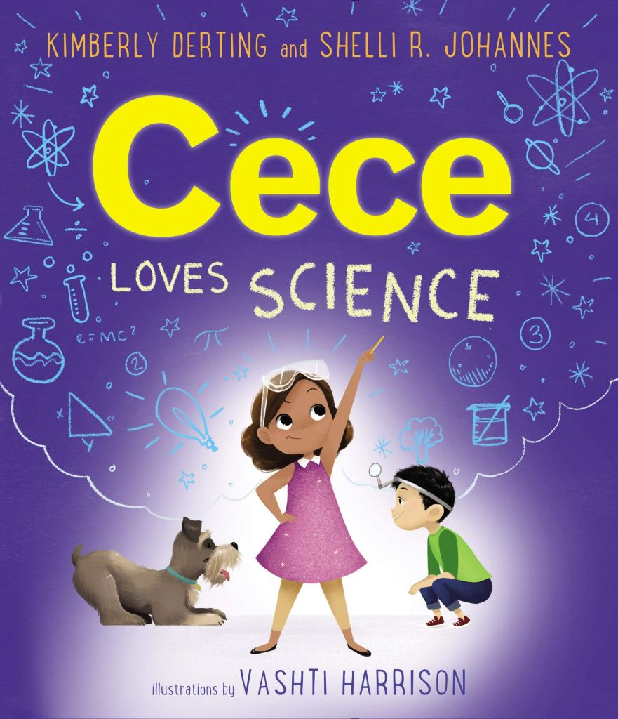 Cece Loves Science by Kimberly Derting and Shelli R. Johannes book cover