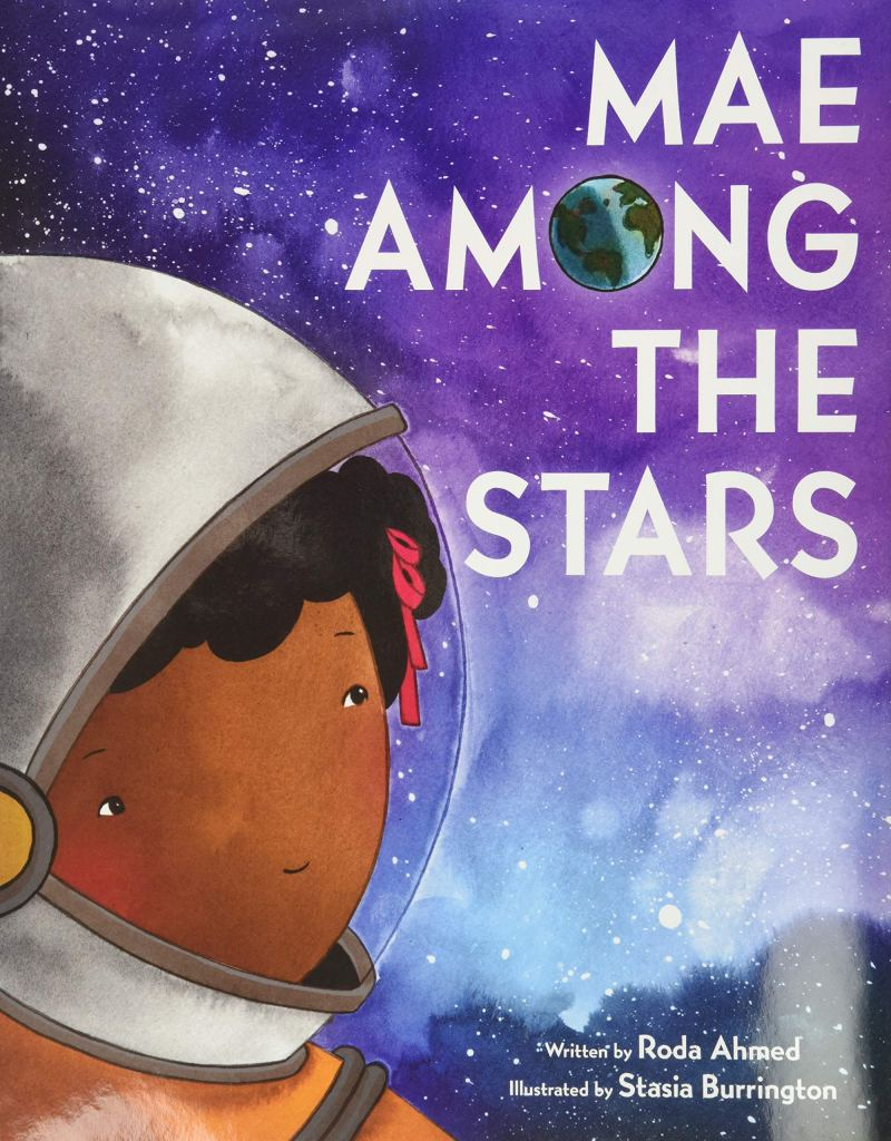 Mae Among the Stars by Roda Ahmed book cover