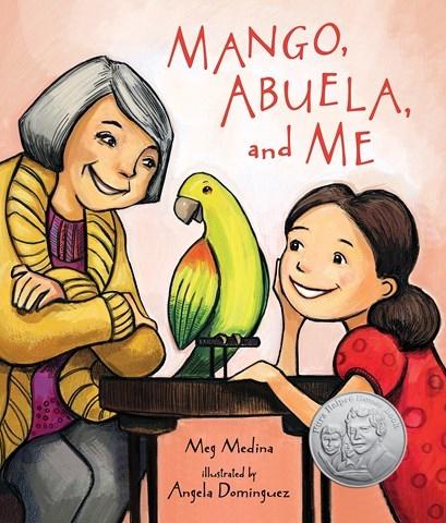 Mango, Abuela, And Me by Meg Medina book cover