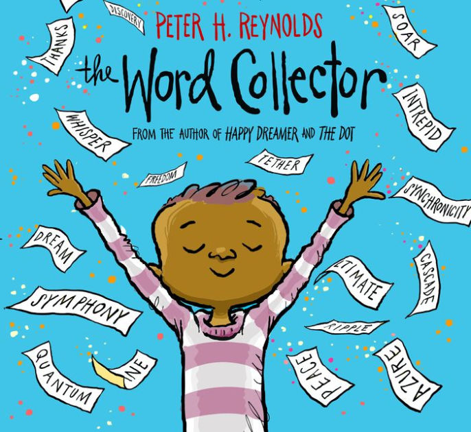 The Word Collector by Peter H. Reynolds book cover