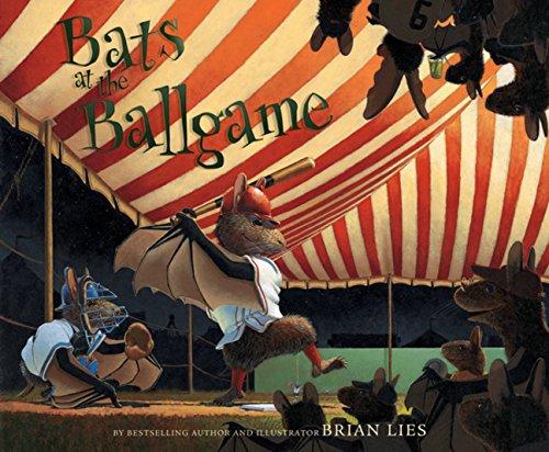 Bats at the Ballgame by Brian Lies book cover