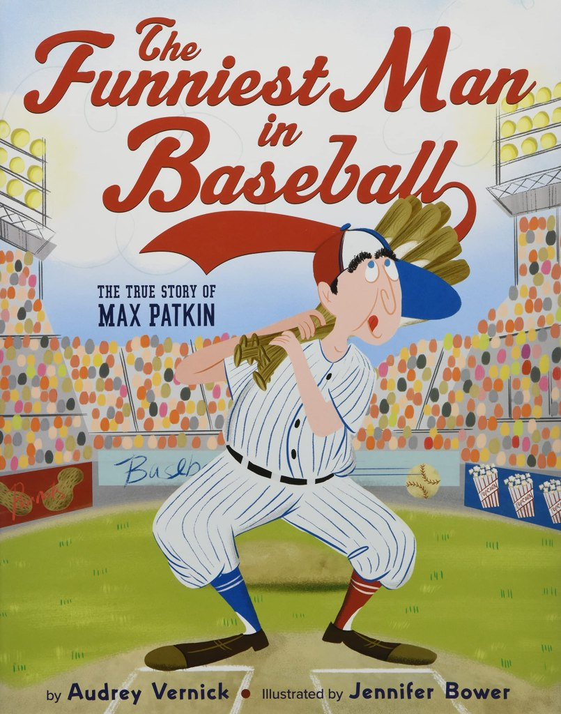 The Funniest Man in Baseball by Audrey Vernick book cover