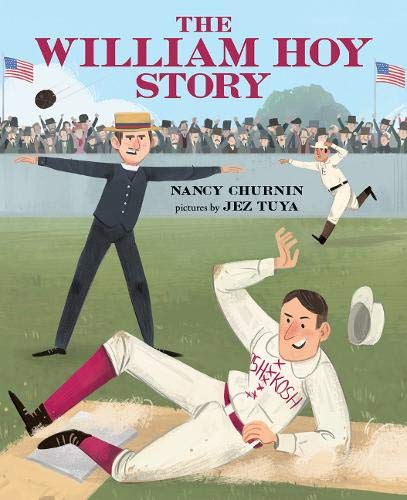 The William Hoy Story by Nancy Churnin book cover