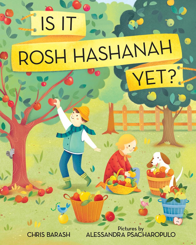 Is it Rosh Hashanah Yet? by Chris Barashbook cover