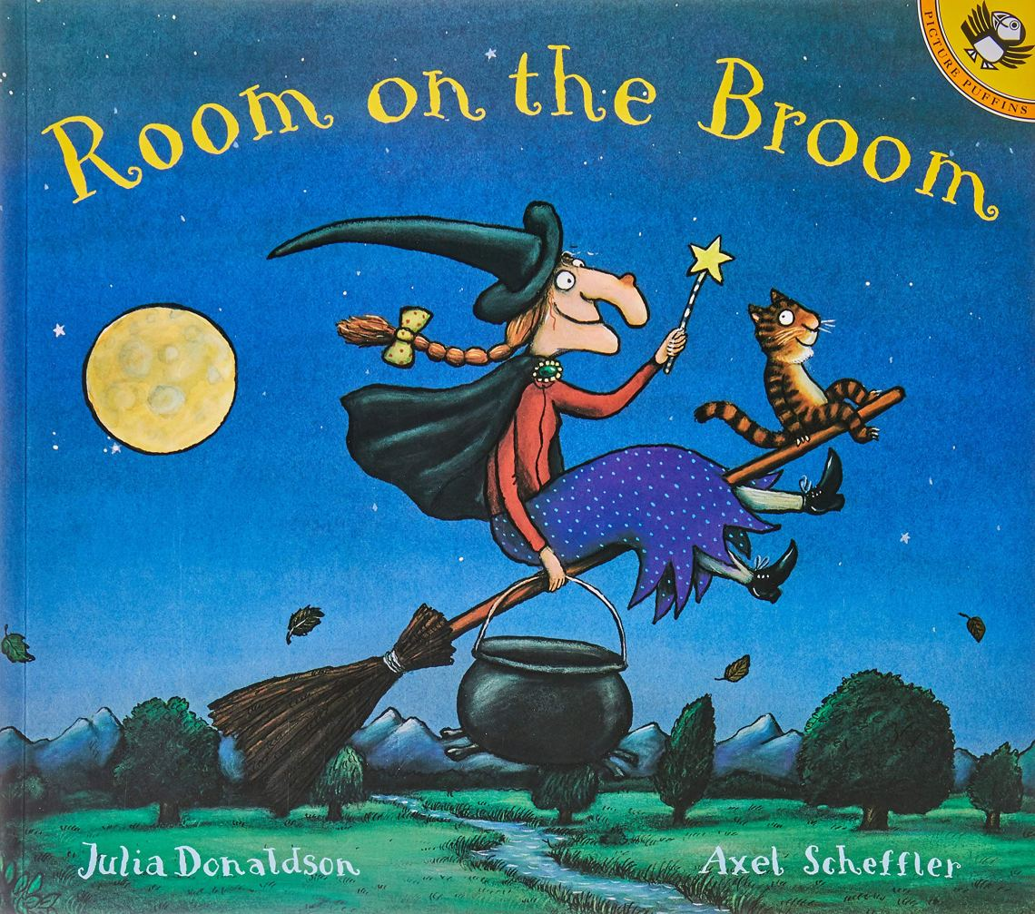Room on the Broom by Julia Donaldson book cover