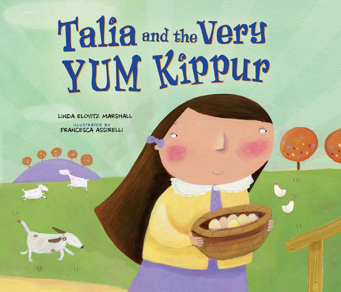 Talia and the Very YUM Kippur by Linda Elovitz Marshallbook cover