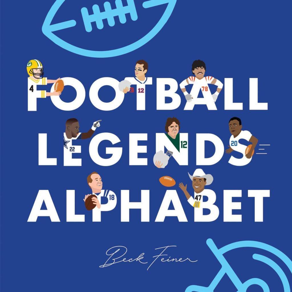 Football Legends Alphabet by Beck Feinerbook cover