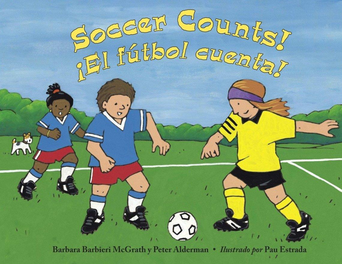 Football Counts! ¡El Futbol Cuenta! by Barbara Barbieri McGrath and Peter Alderman book cover