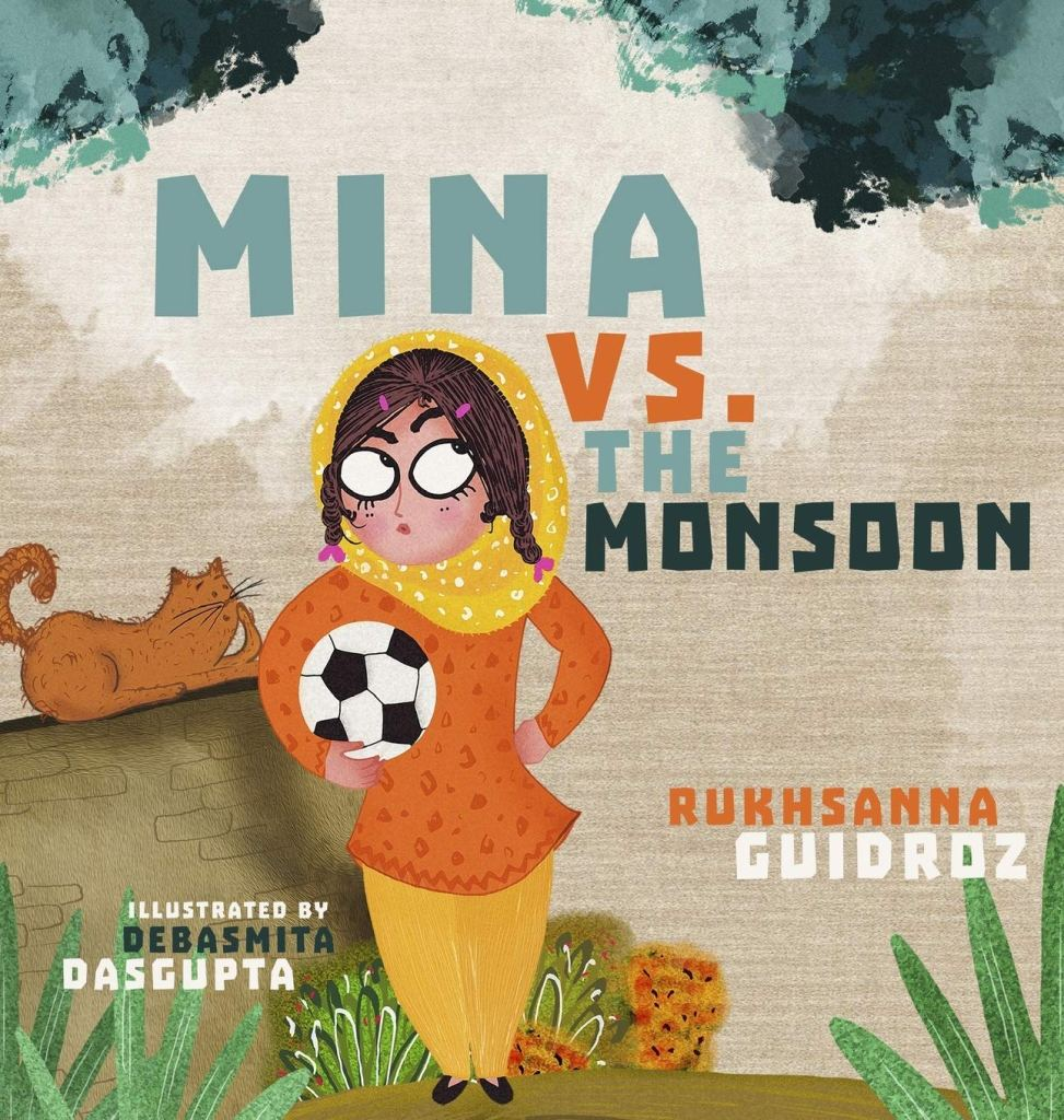 Mina vs. the Monsoon by Rukhsanna Guidrozbook cover