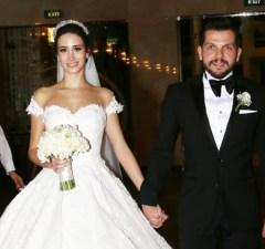 İşadamı Serhat Neziroğlu ile Mimar Pırıl Kızıldemir evlendi.