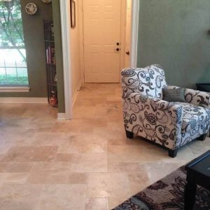 Mina Rustic Antique Pattern | Mina rustic travertine tiles | Antique pattern tiles