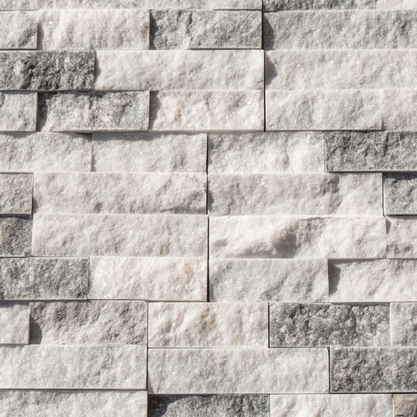 Harbor Gray Marble Stacked Stone Ledger Panel | Harbor ledger panel | Marble ledger panel | Gray marble stacked ledger panel