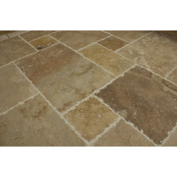 10076976-Volcano-Antique-Pattern-Travertine-Tile-angle-view-www.mayausatile.com