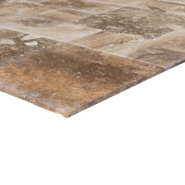 conglomerate-antique-pattern-travertine-tiles-angle-profile-view-wet-www.mayausatile.com