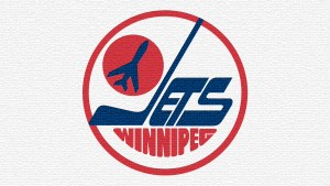 Winnipeg Jets' Away Logo 1980s