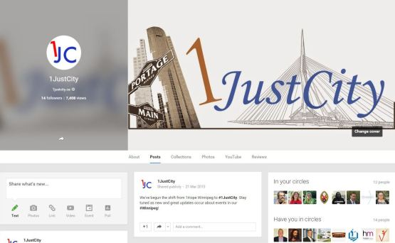 1JustCity (Google+)