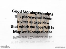 #Compassion Be
